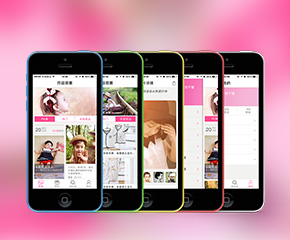 作品竞赛妈妈育儿手机app案例